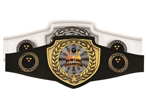 Champion Belt | Award Belt for Bowling