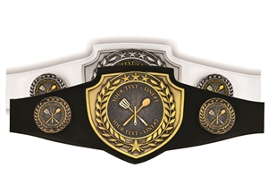 Champion Belt | Award Belt for Cooking