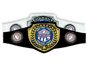 Champion Belt | Award Belt for Fantasy Football