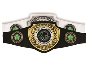 Champion Football Belt | Award Belt for Football