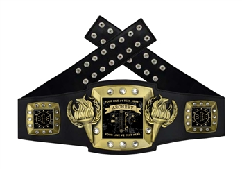 Championship Belt | Award Belt for Archery
