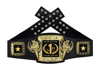 Championship Belt | Award Belt for First Place