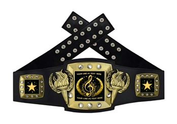 Championship Belt | Award Belt for Music