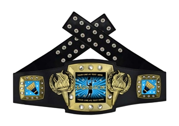 Championship Belt | Award Belt for Badminton