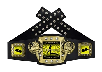 Championship Belt | Award Belt for Cornhole