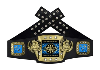 Championship Belt | Award Belt for Dart Throwing