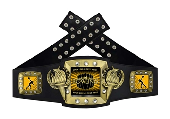 Championship Belt | Award Belt for Female Bowling