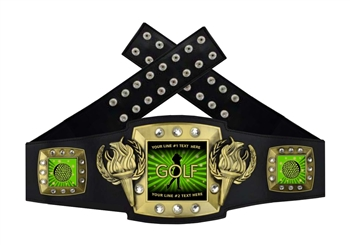 Championship Belt | Award Belt for Golf