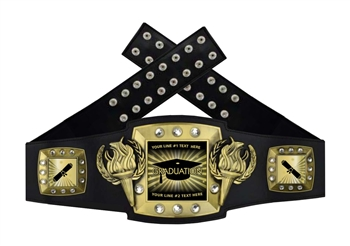 Championship Belt | Award Belt for Graduate