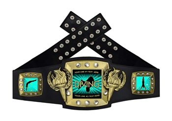 Championship Belt | Award Belt for Male Diving