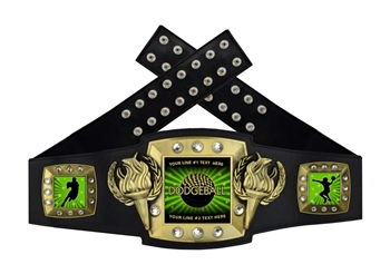 Championship Belt | Award Belt for Male Dodgeball