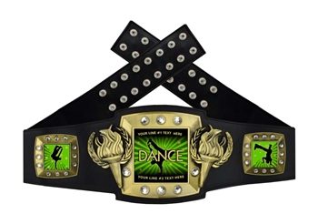 Championship Belt | Award Belt for Dance