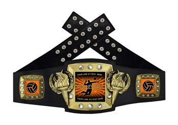 Championship Belt | Award Belt for Volleyball