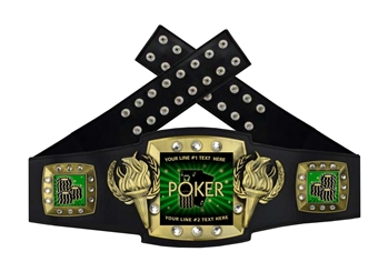 Championship Belt | Award Belt for Poker