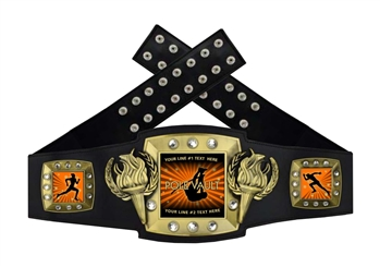 Championship Belt | Award Belt for Pole Vault