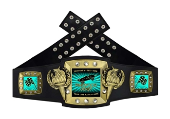 Championship Belt | Award Belt for Pinewood Derby