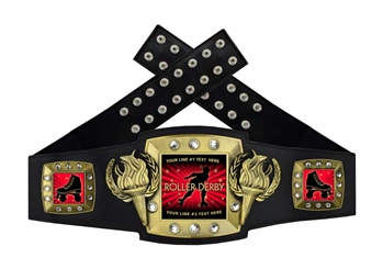 Championship Belt | Award Belt for Roller Derby