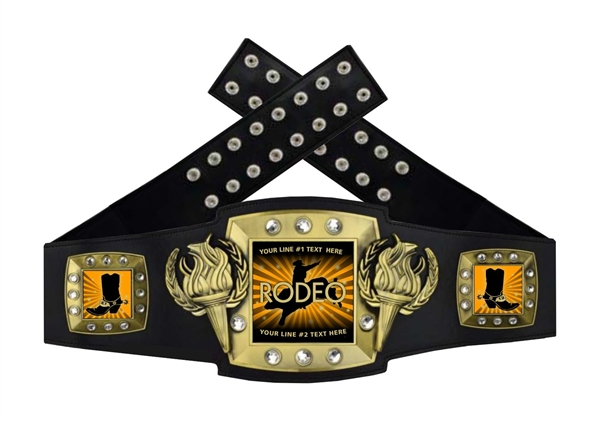 Championship Belt | Award Belt for Rodeo