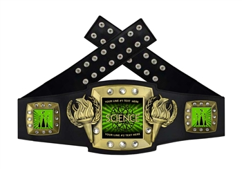 Championship Belt | Award Belt for Science