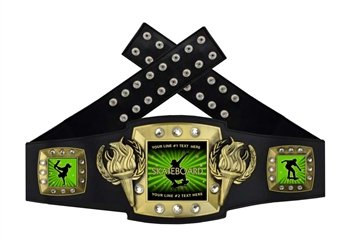 Championship Belt | Award Belt for Skateboard