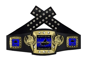 Championship Belt | Award Belt for Snowmobile