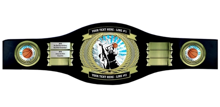 Perpetual Basketball Champion Belt