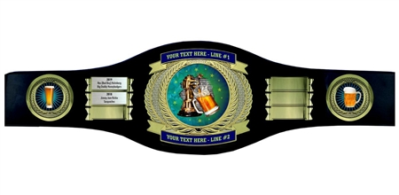 Perpetual Beer Drinking Champion Belt