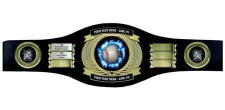 Perpetual Baseball Champion Belt