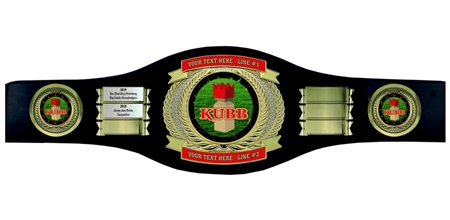 Perpetual Kubb Champion Belt