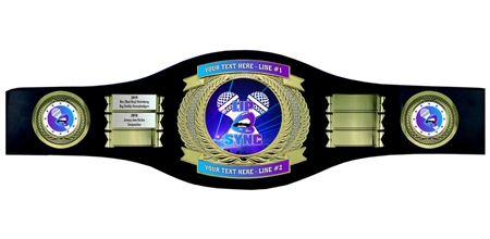 Perpetual Lip Sync Champion Belt