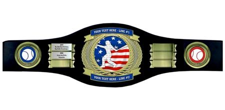 Perpetual Softball Champion Belt