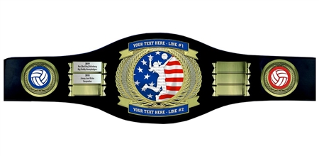 Perpetual Volleball Champion Belt