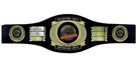 Perpetual Shooting Champion Belt