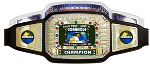 Champion Award Belt for Cornhole