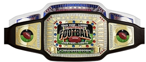 Champion Award Belt for Fantasy Football