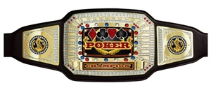 Champion Belt | Award Belt for Poker/Gaming