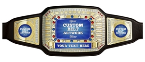 Champion Belt | Award Belt for Customization
