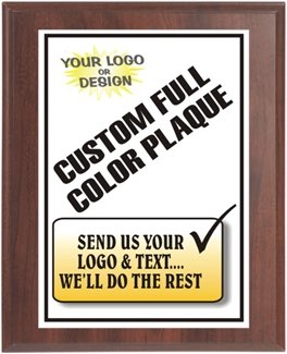Custom Full Color Plaque