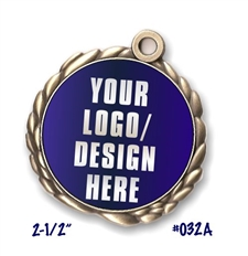Custom Full-Color Insert Medal
