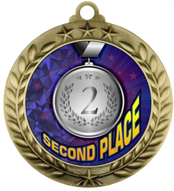 Second Place Medal