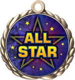 All Star Award Medal
