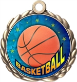 Basketball Award Medal