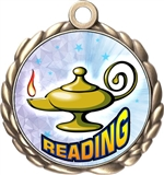 Reading Award Medal