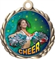 Cheerleading Award Medal