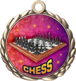 Chess Award Medal