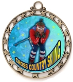 Cross Country Ski Award Medal