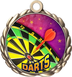 Darts Award Medal