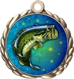 Fishing Award Medal