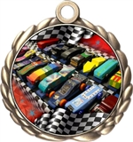 Pinewood Derby Award Medal