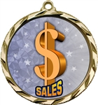 Sales Award Medal